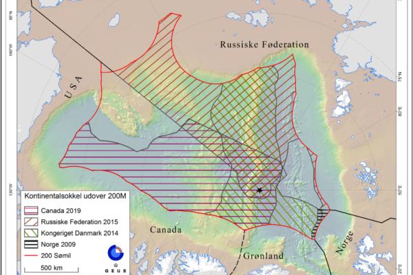 Nordpolen og Kontinentalsokkelprojektet