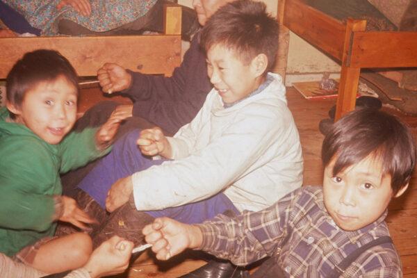 Traditionelle grønlandske børnelege