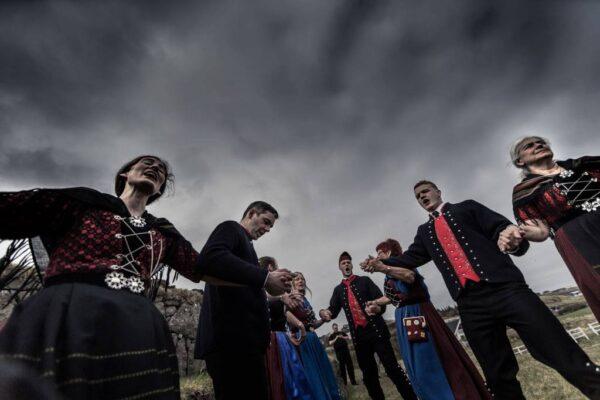 Færøsk dans på kajen