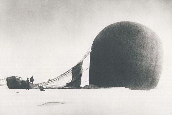 A.S Andrées dødsdømte ballonfærdmod Nordpolen af Naja Mikkelsen