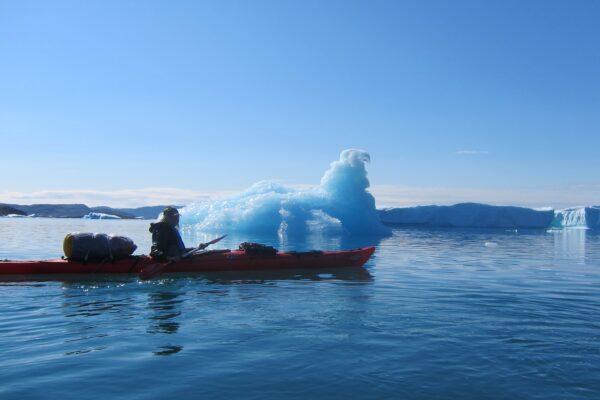 På kajakekspedition i vestgrønland af Rikke Nöhrlind